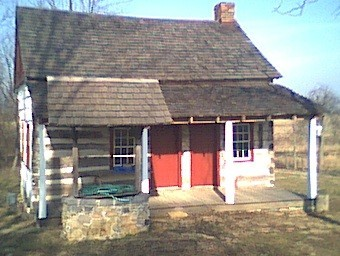 Eliab Negley's cabin in Welsh Run, Franklin County, Pennsylvania.  Supportive of genealogy, Family History, and genealogy.